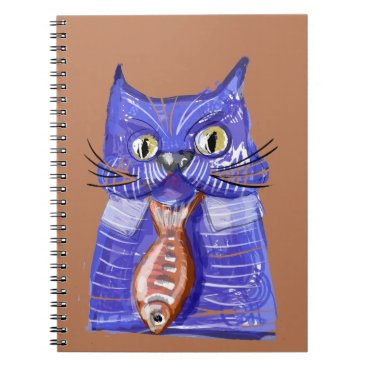Professional Business Serious Cat Notebook