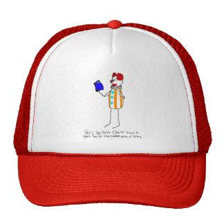 Serious Clown Loves Tolstoy Trucker Hat