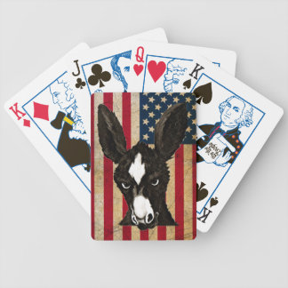 Serious Donkey - Patriotic Edition Bicycle Playing Cards