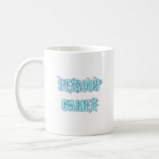 Serious Gamer - Blue Coffee Mug