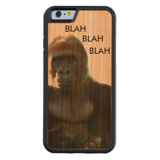 Serious Gorilla Wood iPhone 6 Case Carved® Cherry iPhone 6 Bumper
