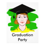 Serious Graduate Personalized Flyer