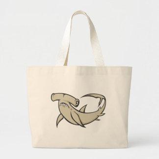 Serious Hammerhead Shark Bag