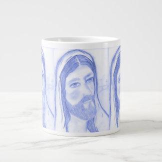 Serious Jesus Large Coffee Mug