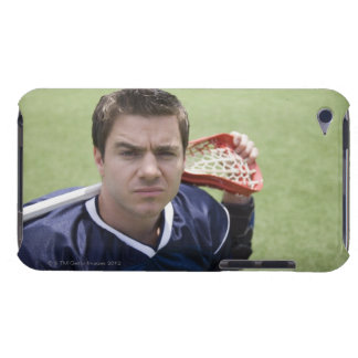 Serious lacrosse player iPod touch cases