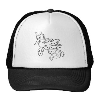 Serious Leafy and Weedy Sea Dragon Trucker Hat