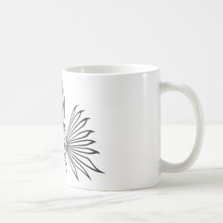 Serious Lion Fish in Black and White Coffee Mugs