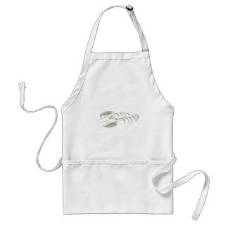 Serious Lobster Adult Apron