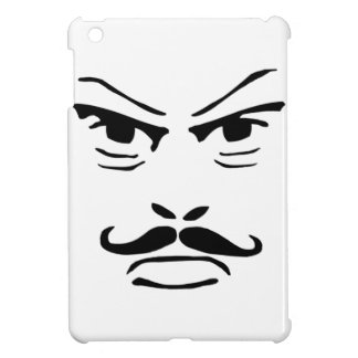 Serious Moustache Man Cover For The iPad Mini