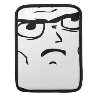 Serious Not Okay Comic Face iPad Sleeve