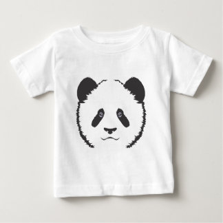 Serious Panda Bear Baby T-Shirt