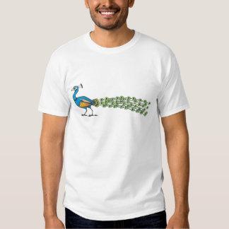 Serious Peacock Bird T-Shirt