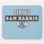 Serious Sam Harris Fan Mouse Pad