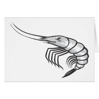 Serious Shrimp Card