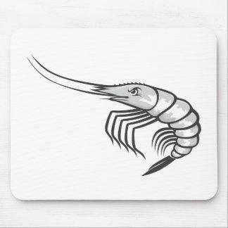 Serious Shrimp Mouse Pad