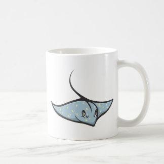 Serious Stingray Fish Mugs