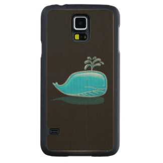 Serious Whale Carved® Maple Galaxy S5 Case
