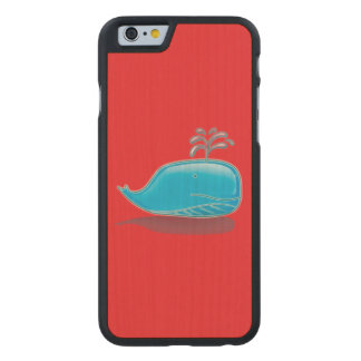 Serious Whale Carved® Maple iPhone 6 Slim Case