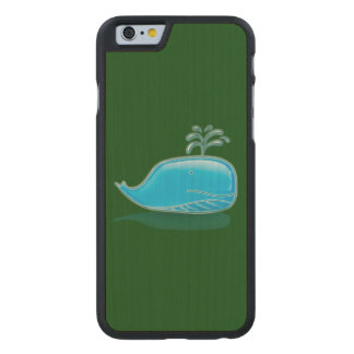 Serious Whale Carved® Maple iPhone 6 Case