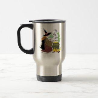 Serious witch mug