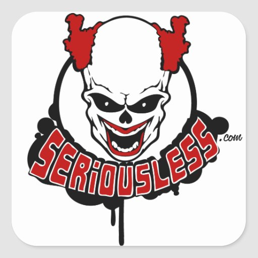 Seriousless Mascot Stickers