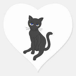 Seriously? Cat Heart Sticker