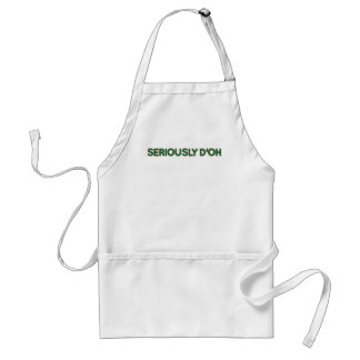 Seriously D'oh Apron