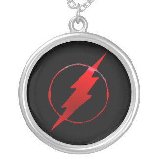 Seriously Fast Round Pendant Necklace