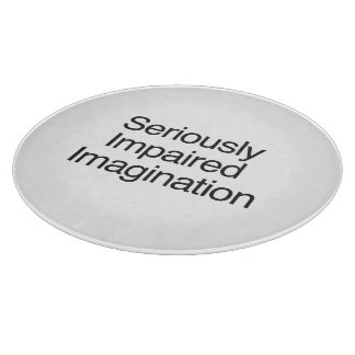 Seriously Impaired Imagination.ai Cutting Board