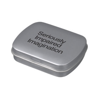 Seriously Impaired Imagination Jelly Belly Candy Tin