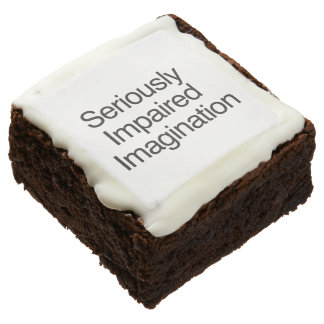 Seriously Impaired Imagination Brownie