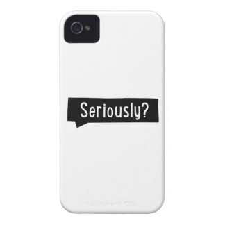 seriously iPhone 4 cases