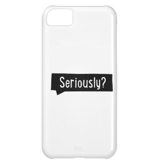 seriously iPhone 5C cover