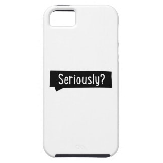 seriously iPhone SE/5/5s case