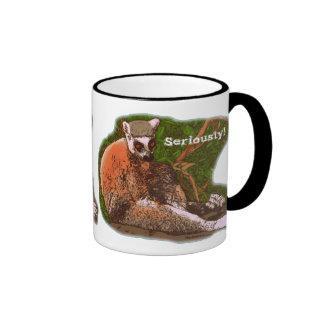 Seriously! Lemur Coffee Mug