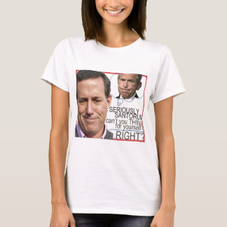 SERIOUSLY SANTORUM LINE T-Shirt