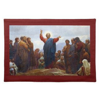 Sermón de la montaña manteles individuales