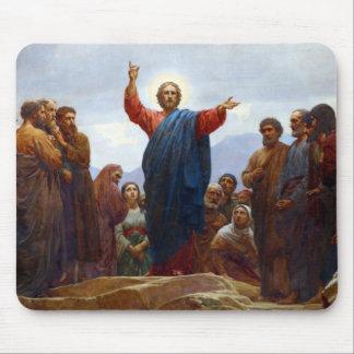 Sermón de la montaña mouse pad