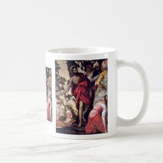 Sermon Of John The Baptist By Veronese Paolo Coffee Mug