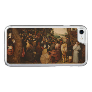 Sermon of St John the Baptist by Pieter Bruegel Carved iPhone 7 Case