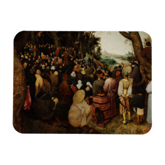 Sermon of St John the Baptist by Pieter Bruegel Magnet