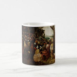 Sermon of St John the Baptist by Pieter Bruegel Mugs