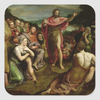 Sermon of St. John the Baptist Square Sticker