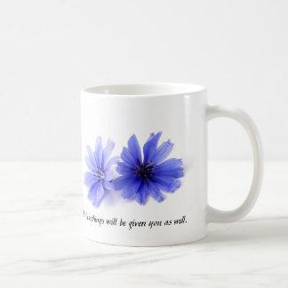 Sermon on Mount Flowers Mug