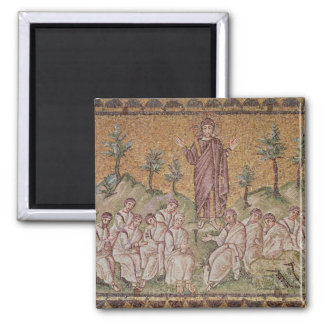 Sermon on the Mount 2 Inch Square Magnet