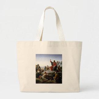 Sermon On The Mount Canvas Bag