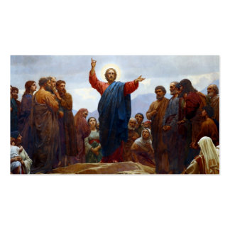 Sermon on the Mount Business Card