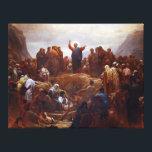 "Sermon on the Mount Canvas Print<br><div class=""desc"">Sermon on the Mount</div>"