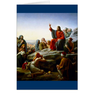 Sermon on the Mount Card