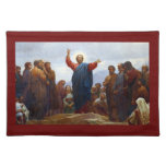 Sermon on the Mount Cloth Placemat